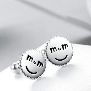 Jewelry - NEW S925 LiL MUM SMILEY EARRINGS